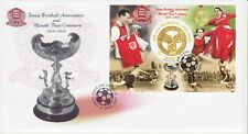 GB Stamps First Day Cover Jersey Football Association, Muratti Vase, sport 2005