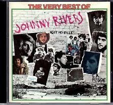 """JOHNNY RIVERS - """" THE VERY BEST OF JOHNNY RIVERS """" - CD mit 10 Titeln / MADE USA"""