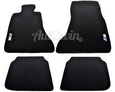 BMW 7 Series F02 F02LCI Black Carpets With ///M Emblem 2007-2014