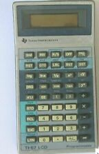 1983 Vintage LCD Texas Instruments ti-57 Programmable calculator UNTESTED