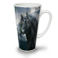 Horse Wild NEW White Tea Coffee Latte Mug 12 17 oz | Wellcoda