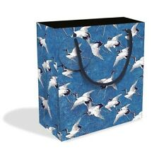 Cranes in Flight Small Gift Bag with Gift Tag