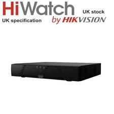 Hiwatch Digital 2MP 4 CH HD TVI AHD CVI CVBS CCTV Video DVR-204Q-F1 POE Recorder