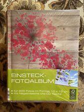 Einsteck-Fotoalbum 10x15 NEU OVP für 200 Fotos