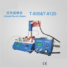 T-835 Infrared soldering Rework station+Preheating Oven T-8120