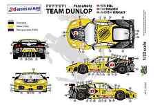"""[FFSMC Productions] Decals 1/32 Ferrari F-430 LMGT2 """"Team Dunlop"""" (LM 2009)"""