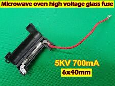 Microwave Oven Parts High Voltage Glass Fuse with Holder 5KV 700mA 6x40mm (B76)