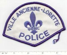 Ville Ancienne-Lorette Police (Canada) Shoulder Patch from the Early 1980's