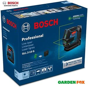 new Bosch GLL 2-15G GREEN Line LAZER plus LB10 - 0601063W00 4059952511054 .