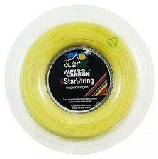Weiss Cannon 6Star Supercharged 16G 1.30mm (natural) 660ft 200m Tennis String