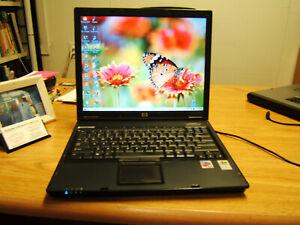 """TEST Dual Boot Windows 2000 & XP Pro HP NC6120 Office2010 2GB 15"""" GdBatWksGr8 26"""