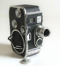 Paillard Bolex B8 Turret Movie Camera, Som Berthiot Lytar 1.8 12.5mm Lens