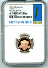 2020 S LINCOLN PENNY NGC PF70 RD UCAM FIRST DAY ISSUE PROOF CENT RARE 1ST LABEL
