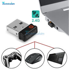 2.4G Nano Logitech Unifying USB Receiver Dongle 6 Channel for Keyboard Mouse