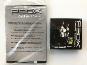 Beachbody P90X Extreme Home Fitness Training Workout DVD Set Guides Sealed New