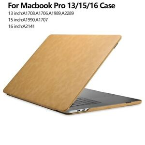 Laptop Case Leather Microfiber Fashionable Replace Flip Cover For Macbook