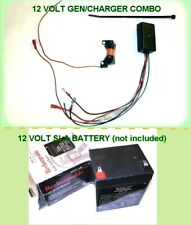 SPECIAL DEAL ON 12 Volt Mini-Generator/Charger Combo For Motorized Bicycles Bike