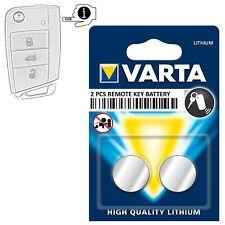 Klapp Schlüssel Ersatz Batterie für VW Seat Skoda Ibiza V Polo Golf 7 Leon Fabia