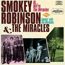 Smokey Robinson - Hi We're the Miracles / Cookin with the Miracles [New CD] Bonu