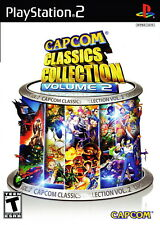 Capcom Classics Collection: Volume 2 [PlayStation 2 PS2 Retro Fighting] NEW