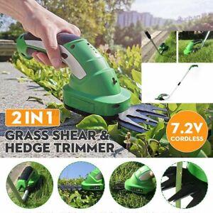 Akku Grasschere Rasenschere Gras-Schere Strauchtrimmer Rasentrimmer Gartenpflege
