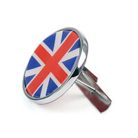 Front Grill Badge w/ Holder Union Jack UK Flag For MINI Cooper R50 R55 R56 A9