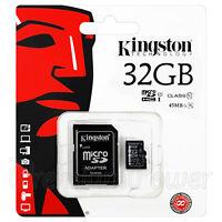 Kingston micro SDHC 32GB Memory card Class 10 UHS-I Flash 45MB/s Adapter GENUINE