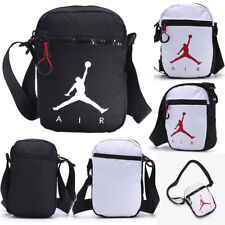 Men Women Canvas Shoulder Crossbody Bag Sports Travel Messenger Handbag Jordan
