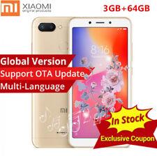 "5.45"" Xiaomi Redmi 6 3GO+64GO Global Helio P22 4G Smartphone 3Camera Fingerprint"