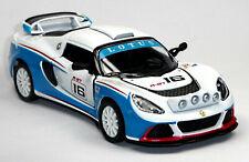 2012 Lotus Exige R-GT Rennwagen Sammlermodell weiß / blau ca. 1:32 von KINSMART