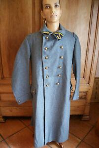 Capote bleu horizon, état exceptionnel, 6 BCA, 1914/1918, reutilisé en 1940