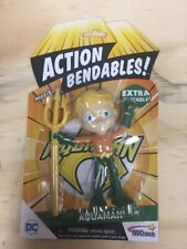 Action Bendables Justice League Aquaman 4 Inch Figure N J Croce Company