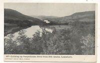 Susquehanna River from Erie Railroad Tracks LANESBORO PA Pennsylvania Postcard