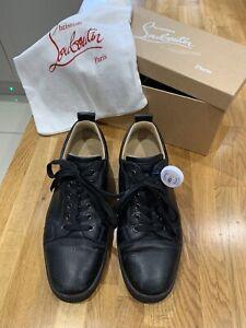 Christian Louboutin Louis Junior Black Size UK9 EU43