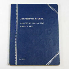 Complete Jefferson Nickel Collection 1938 - 1961 P D S Set with Silver War 5c