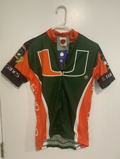 Miami Hurricanes Cycling Jersey