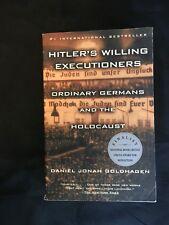 HITLER'S WILLING EXECUTIONERS brand new unread Daniel Jonah Goldhagen