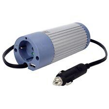 CONVERTISSEUR 12/220V ALLUME CIGARE SECTEUR 100W USB PC