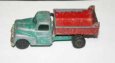 Hubley No. 431 Red and Green Cast Dump Truck