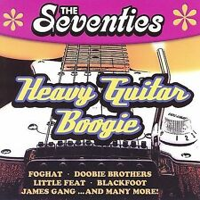 The Seventies: Heavy Guitar Boogie by Various Artists (CD, 2006, American Beat Records)
