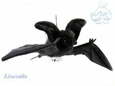 Flying Black Bat  Plush Soft Toy by Hansa from Lincrafts. 4793