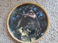 """Gimli"" LORD OF THE RINGS The Fellowship Of The Ring Danbury Mint Plate"