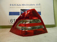 MERCEDES-BENZ C-CLASS 2005-2007 LEFT/DRIVER SIDE OEM TAIL LIGHT P#203 820 33 64L