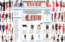 WOMEN'S CLOTHING STORE Website Business For Sale. Amazon, eBay, Google Adsense
