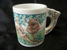 Mug cup Australia Koala bears souvenir Country Down Under coffee tea outback art