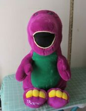 24 inch PLUSH Barney the Lyons group VINTAGE NICE