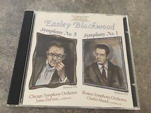 Easley Blackwood: Symphony Symphonies Nos. 1 & 5 CD 2011, Cedille Free Post