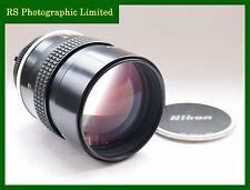 Nikon AI 135mm F2 Fast Manual Prime Lens. Stock No.U7332