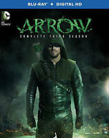 Arrow: The Complete Third Season (Blu-ray Disc, 2015, 4-Disc Set, Includes Digit
