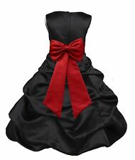 PICK-UP FLOWER GIRL DRESS PAGEANT BRIDESMAID FORMAL MULTIPLE COLORS WEDDING NEW